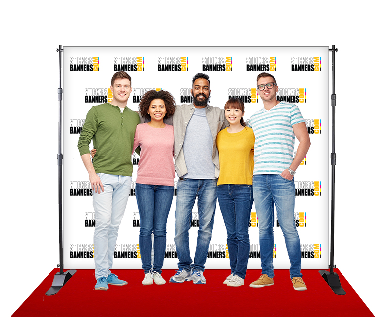 Custom Step and Repeat Banner from StickersBanners